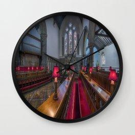 Choir Hymns Wall Clock
