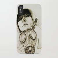 majoras mask iPhone & iPod Cases featuring MASK by lantomo