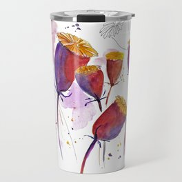 Poppy cocoons Travel Mug