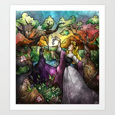 I know you... Art Print
