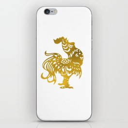 Golden Rooster - Year of the Rooster 2017 iPhone Skin
