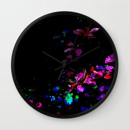 The Plant Trail Wall Clock