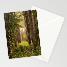 I Went to the Woods Stationery Cards