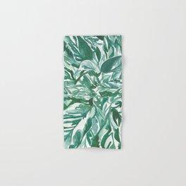 calathea leaves Hand & Bath Towel