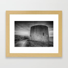 Martello 15 Framed Art Print