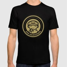 Chibi Kimi Raikkonen - Lotus F1 Team X-LARGE Mens Fitted Tee Black