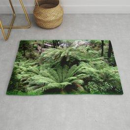 Ferns & Waterfall Rug