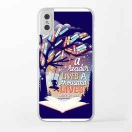 Thousand lives Clear iPhone Case