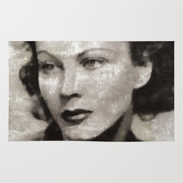 Vivien Leigh by MB Rug