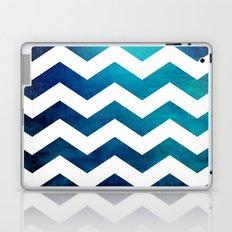 Teal Chevron Laptop & iPad Skin