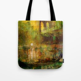 The gondolier of Brooklyn Tote Bag