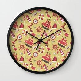 Marine And Nautical Theme Wall Clock