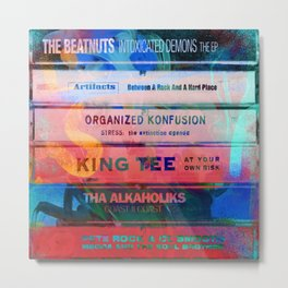 Old School Hip Hop tapes 551 Metal Print