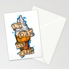 Lt. Dan Ice Cream! Stationery Cards