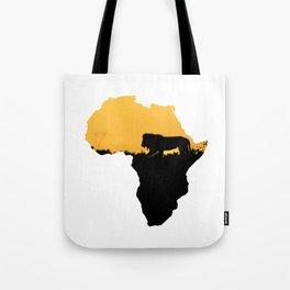 Africa Lion Tote Bag