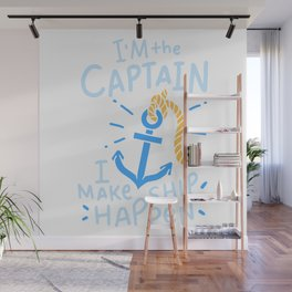 Boating Captain Gift Wall Mural