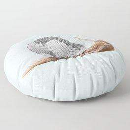 DISCO SNAIL Floor Pillow