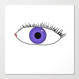Eye doodle Canvas Print