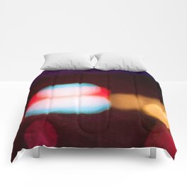 Abstract Light And Color Field Comforters