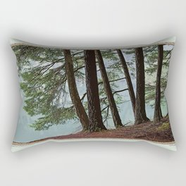 NORTH END OF MOUNTAIN LAKE Rectangular Pillow