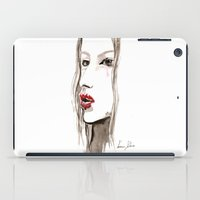 cara iPad Cases featuring Cara by Vanessa Datorre