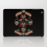 in the flesh iPad Cases featuring Appetite For Flesh by Letter_q