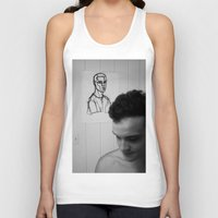 mirror Tank Tops featuring Mirror by Matt Oberski