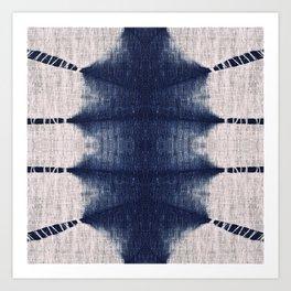 Indigo Tribe by Juul Art Print
