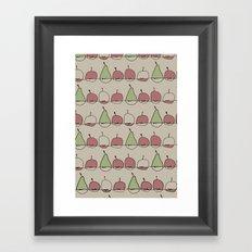Apple and Pears Framed Art Print