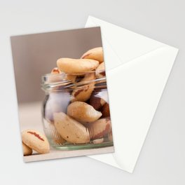 Brazil nuts from Bertholletia excelsa Stationery Cards