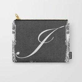 J Vintage Garden Chalkboard Carry-All Pouch