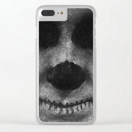 SKULL TIMI Clear iPhone Case
