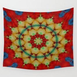 Parasol Kaleidoscope Wall Tapestry