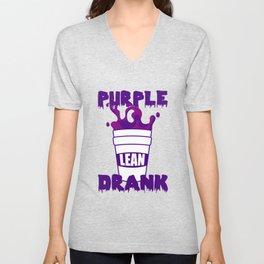 Purple Drank Lean Double Cup Unisex V-Neck