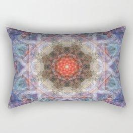 Penteract # 1 (mandala) Rectangular Pillow