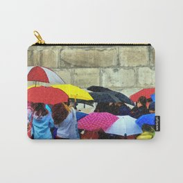 Standing in a Pouring Rain Carry-All Pouch