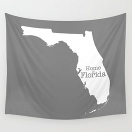 Home is Florida Wall Tapestry