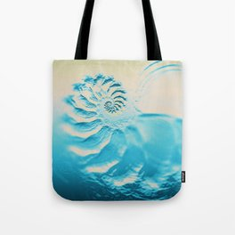 Fosil abstract beach fractal background Tote Bag