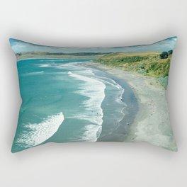 Raglan beach, New Zealand Rectangular Pillow