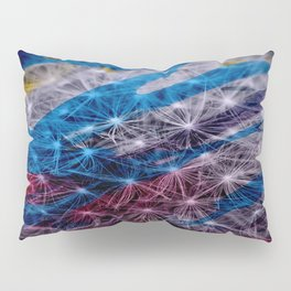 Finding Happiness in a Single Dandelion  Pillow Sham