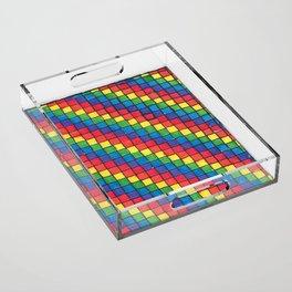 Pixel Spectrum by Sunny Acrylic Tray