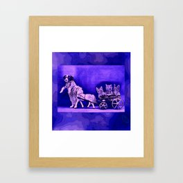 CatCurios 07 Framed Art Print