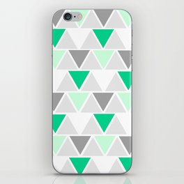 Directions - green iPhone Skin