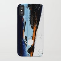 porsche iPhone & iPod Cases featuring PORSCHE 917 -  by Michele Leonello