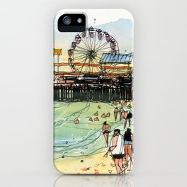 Santa Monica Seaside iPhone Case