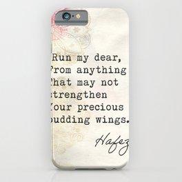 Hafez Old quote iPhone Case