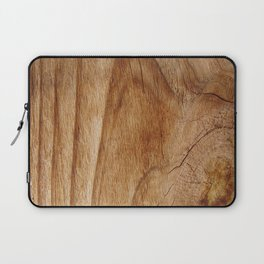 Natural Wood Texture for Wood Artworks Lovers. Laptop Sleeve