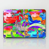 picasso iPad Cases featuring Pop Picasso by Ganech joe