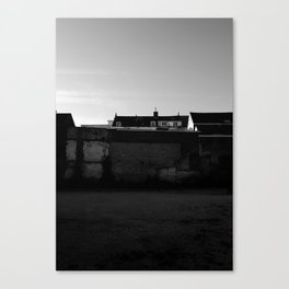 Behind the walls Canvas Print