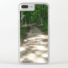 Path to the Sylvan Village Clear iPhone Case
